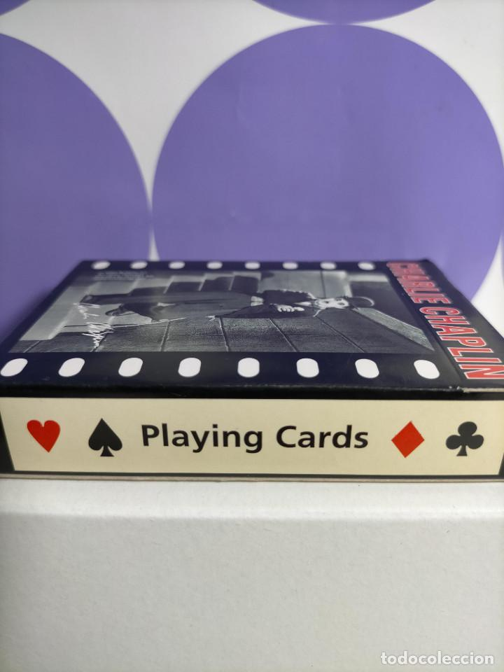 Barajas de cartas: BARAJA CARATAS CHARLIE CHAPLIN CHARLOT PIATNIK 2005 SIN ABRIR, PRECINTADA. - Foto 3 - 244528045