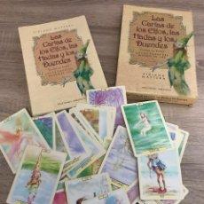 Barajas de cartas: LAS CARTAS DE LOS ELFOS HADAS Y DUENDES FANTASIA. Lote 244612435