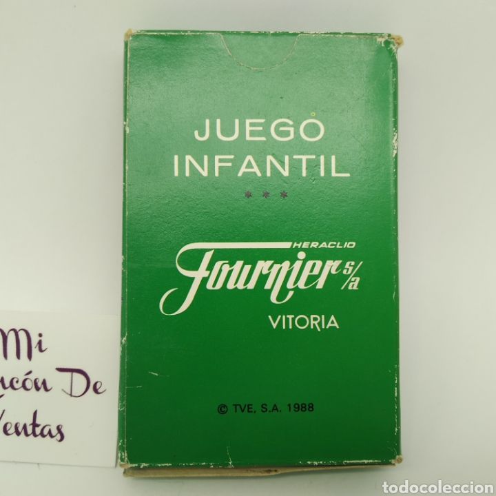 Barajas de cartas: Baraja de cartas Fournier LOS MUNDOS DE YUPI - Nueva a estrenar - Foto 2 - 244758795