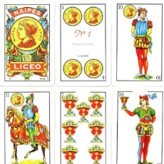 Barajas de cartas: BARAJA ESPAÑOLA. Lote 244764165