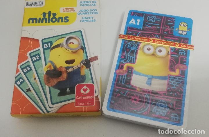Barajas de cartas: Baraja de cartas Minions - Precintada - Cartamundi - Foto 2 - 244770205