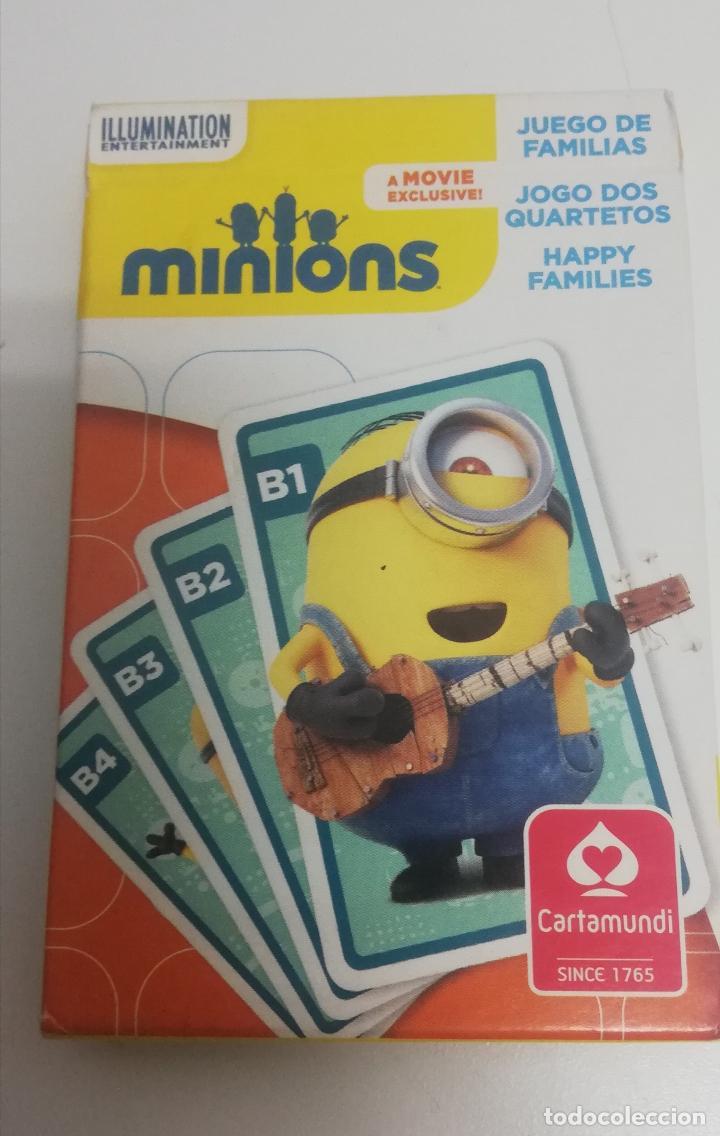 BARAJA DE CARTAS MINIONS - PRECINTADA - CARTAMUNDI (Juguetes y Juegos - Cartas y Naipes - Barajas Infantiles)