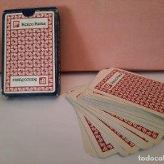 Barajas de cartas: BARAJA CARTAS NAIPE ESPAÑOL HERACLIO FOURNIER BANCO PASTOR. Lote 244810575