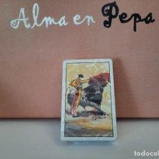 Barajas de cartas: BARAJA CARTAS TAURINA NAIPE ESPAÑOL HERACLIO FOURNIER CESAR PALACIOS (PRECINTADA A ESTRENAR). Lote 244812380