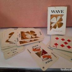 Barajas de cartas: BARAJA CARTAS NAIPES TABACO WAVE. Lote 244822865