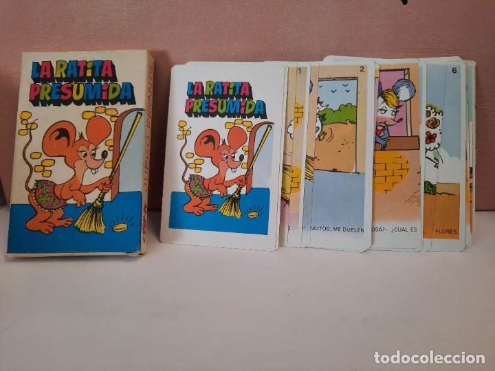 """Barajas de cartas: BARAJA CARTAS NAIPES COMAS """" LA RATITA PRESUMIDA """" - Foto 3 - 244858470"""