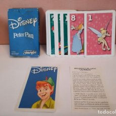 "Barajas de cartas: BARAJA CARTAS NAIPES HERACLIO FOURNIER DISNEY PETER PAN "" LAS PAREJAS "". Lote 244860130"