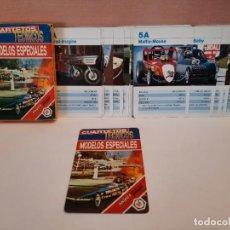 "Mazzi di carte: BARAJA CARTAS NAIPES FOURNIER "" MODELOS ESPECIALES "" CUARTETOS TECNICOS. Lote 244870055"