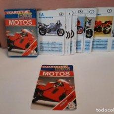 """Mazzi di carte: BARAJA CARTAS NAIPES FOURNIER """" MOTOS """" CUARTETOS TECNICOS. Lote 288449563"""