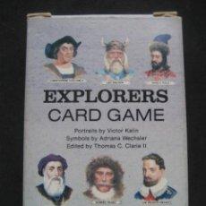 Barajas de cartas: BARAJA POKER EXPLORERS. AÑO 1989. Lote 244921350