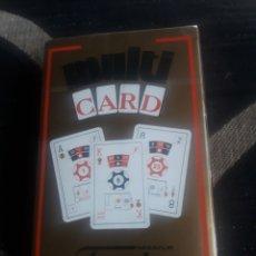 Barajas de cartas: BARAJA DE NAIPES MULTI CARD DE FOURNIER, PRECINTADA. Lote 244996110