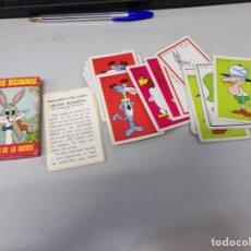Barajas de cartas: BARAJA INFANTIL FOURNIER. BUGS BUNNY EL CONEJO DE LA SUERTE. COMPLETA. 33 CARTAS. 1970. Lote 245069125