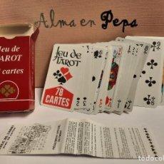 Barajas de cartas: BARAJA CARTAS TAROT 78 CARTAS. Lote 245098640