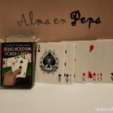 Barajas de cartas: BARAJA CARTAS NAIPES POKER TEXAS HOLD'EM. Lote 245107315