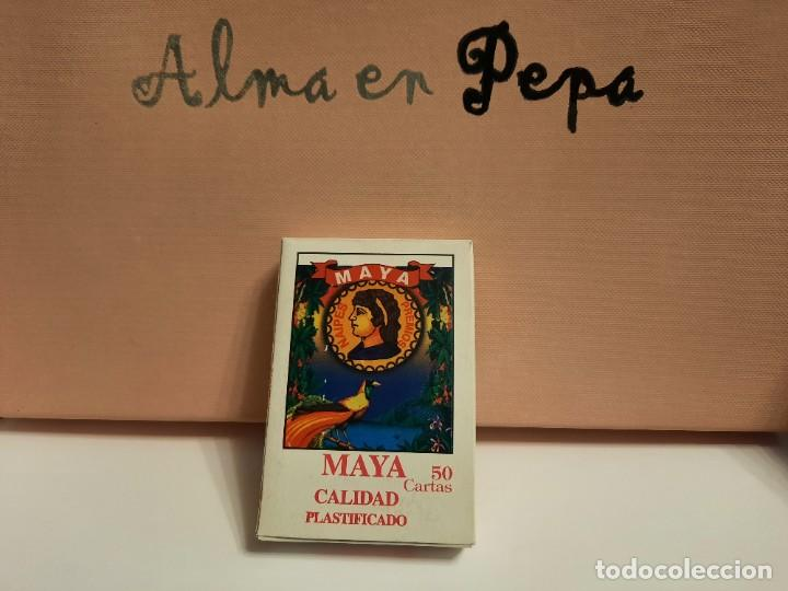 "BARAJA CARTAS NAIPES "" MAYA "" (Juguetes y Juegos - Cartas y Naipes - Otras Barajas)"