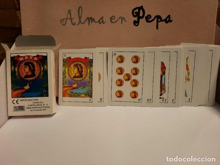 """Barajas de cartas: BARAJA CARTAS NAIPES """" MAYA """" - Foto 2 - 245115415"""