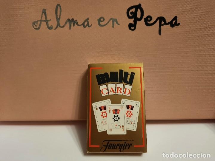BARAJA CARTAS NAIPES HERACLIO FOURNIER MULTI CARD (Juguetes y Juegos - Cartas y Naipes - Otras Barajas)