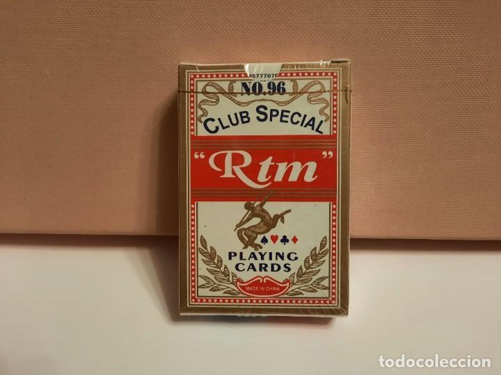 """BARAJA CARTAS NAIPES """" RTM """" N°96 CLUB SPECIAL ( PRECINTADA) (Juguetes y Juegos - Cartas y Naipes - Otras Barajas)"""