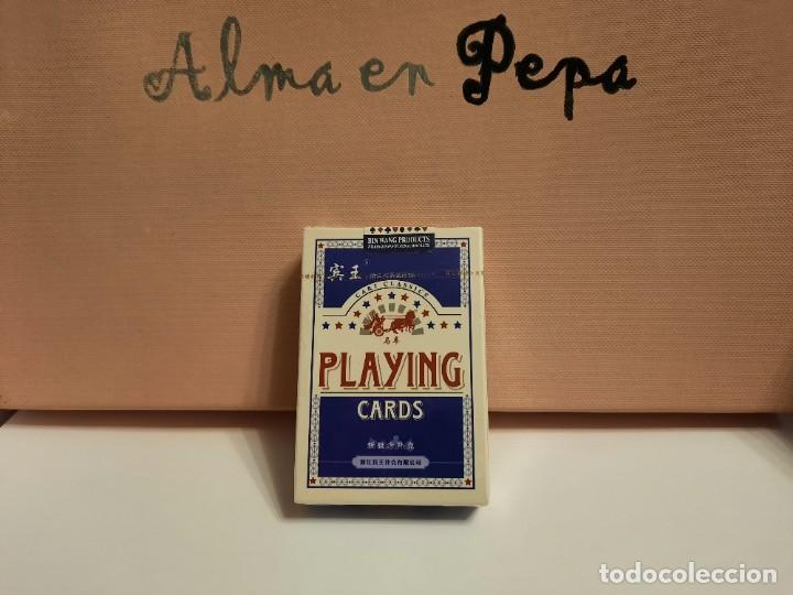 "BARAJA CARTAS NAIPES "" PLAYING CARDS "" ( PRECINTADA) (Juguetes y Juegos - Cartas y Naipes - Otras Barajas)"