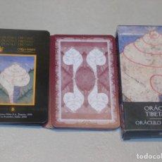 Baralhos de cartas: BARAJA 7 *ORÁCULO TIBETANO* 32 CARTAS. COL. 48 BARAJAS LO SCARABEO/ORBIS FABBRI 2002. 5 FOTOS. Lote 245362470