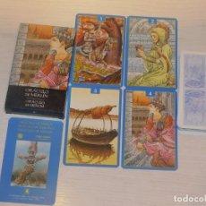 Barajas de cartas: BARAJA 26. ORÁCULO DE MERLÍN. 32 CARTAS. COL.48 BARAJAS LO SCARABEO/ORBIS FABBRI 2002. 7 FOTOS. Lote 245368720