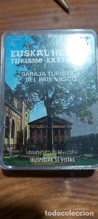 BARAJA TURISTICA DEL PAÍS VASCO (Juguetes y Juegos - Cartas y Naipes - Otras Barajas)