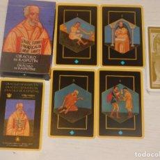 Barajas de cartas: BARAJA 31.ORÁCULO DE RASPUTÍN. 32 CARTAS. COL.48 BARAJAS LO SCARABEO/ORBIS FABBRI 2002. 7 FOTOS. Lote 245370650