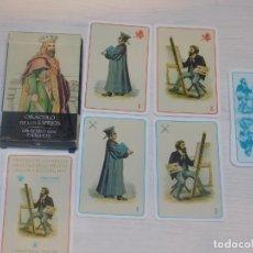 Barajas de cartas: BARAJA 33. ORÁCULOS DE LOS ESPEJOS. 32 CARTAS. COL.48 BARAJAS LO SCARABEO/ORBIS FABBRI 2002. 7 FOTOS. Lote 245371560