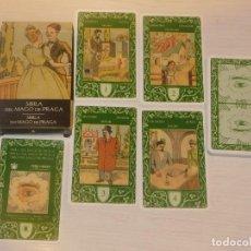 Barajas de cartas: BARAJA 37.SIBILA DEL MAGO DE PRAGA. 32 CARTAS. COL.48 BARAJAS. SCARABEO/ORBIS FABBRI 2003. 7 FOTOS. Lote 245372720