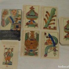 Barajas de cartas: BARAJA 41. ORÁCULO DE LOS 4 ELEMENTOS. 32 CARTAS. COL.48 BARAJAS SCARABEO/ORBIS FABBRI 2003. 7 FOTOS. Lote 245373725