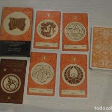 Barajas de cartas: BARAJA 48. LOS TALISMANES DEL ÉXITO. 32 CARTAS COL.48 BARAJAS LO SCARABEO/ORBIS FABBRI 2003. 6 FOTOS. Lote 245378365