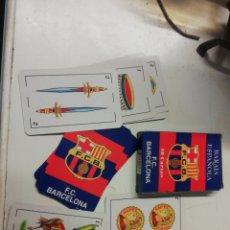 Barajas de cartas: JUEGO DE CARTAS DEL FÚTBOL CLUB BARCELONA. Lote 245552065