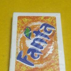 Barajas de cartas: BARAJA DE CARTAS PUBLICIDAD FANTA NUEVA Y PRECINTADA. Lote 245744700
