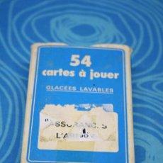 Barajas de cartas: BARAJA DE CARTAS HERON COMPLETA SIN ESTRENAR , PROMOCIONAL ASSURANCES L'ABEILLE. Lote 245768020