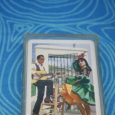 Barajas de cartas: HERACLIO FOURNIER BARAJA REVERSO ESCENA FLAMENCA, COMPLETA Y EN SU CAJA. Lote 245771445