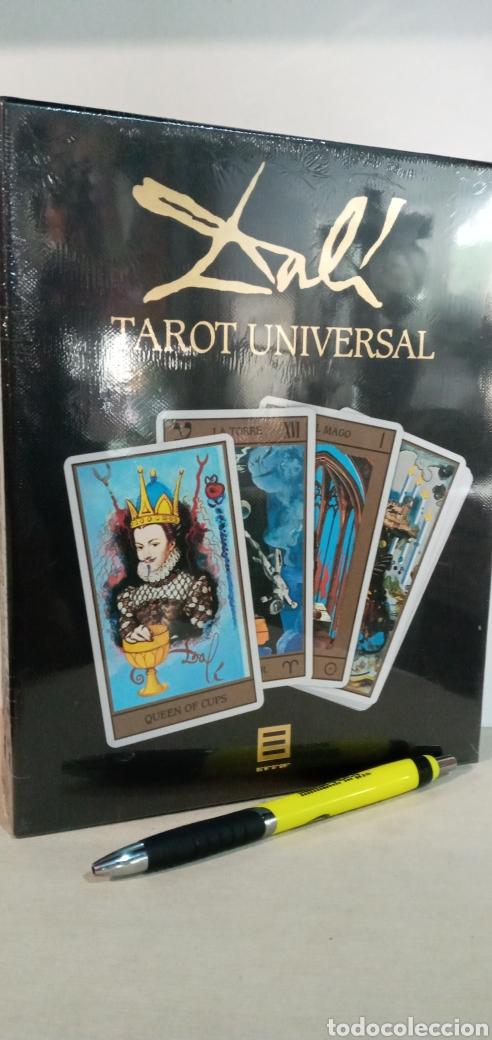 Barajas de cartas: ESTUCHE TAROT DE DALÍ. PACK CON 78CARTAS+LIBRO. - Foto 4 - 245781640