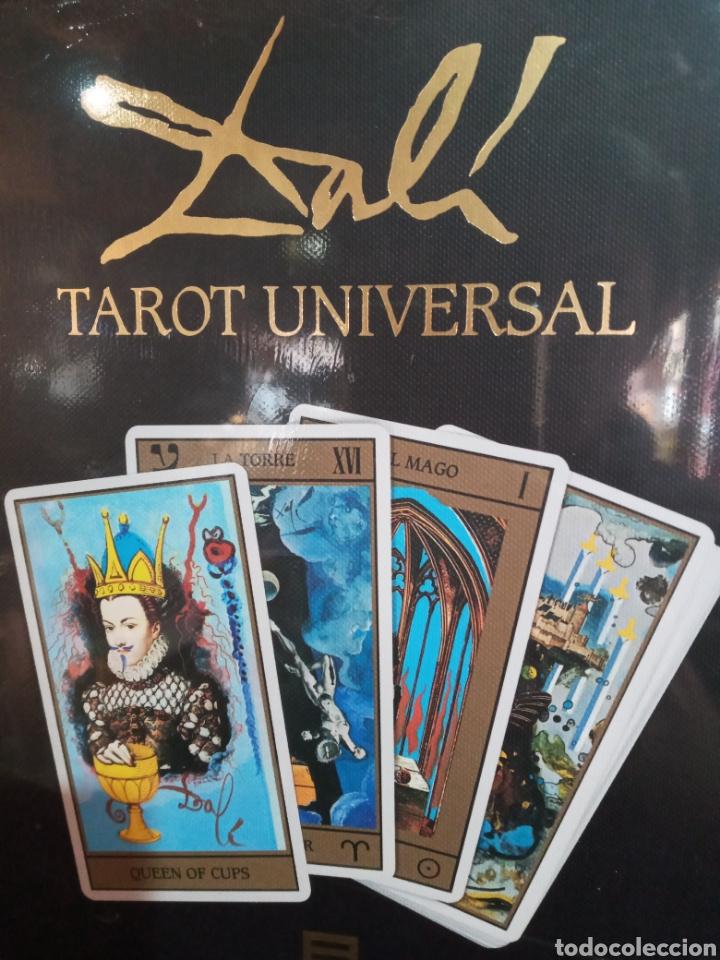 ESTUCHE TAROT DE DALÍ. PACK CON 78CARTAS+LIBRO. (Juguetes y Juegos - Cartas y Naipes - Barajas Tarot)