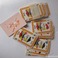 Barajas de cartas: JUEGO DE CARTAS DE LOS MUNDIALES DE FUTBOL DEL 92. Lote 245954530