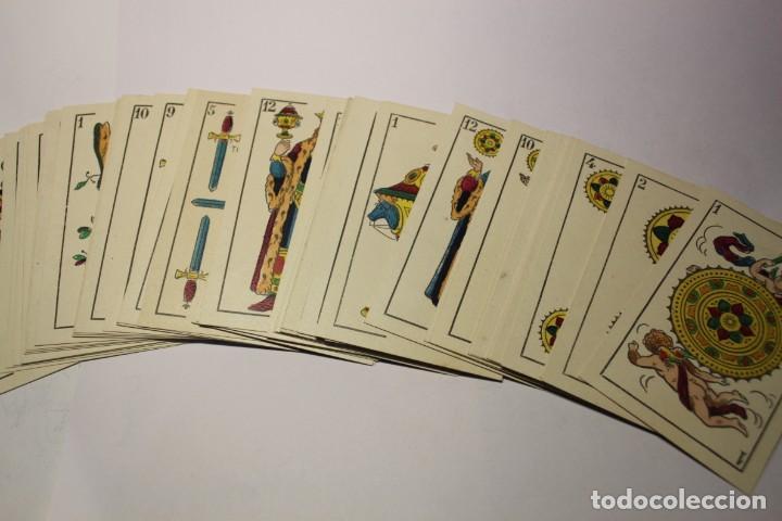 BARAJA NAIPES HIJO DE TORRAS Y LLEO (BARCELONA) COMPLETAMENTE NUEVA SIN USAR AÑOS 1930 (Juguetes y Juegos - Cartas y Naipes - Baraja Española)