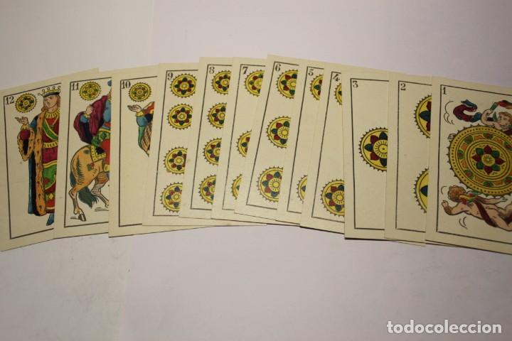 Barajas de cartas: BARAJA NAIPES HIJO DE TORRAS Y LLEO (BARCELONA) COMPLETAMENTE NUEVA SIN USAR AÑOS 1930 - Foto 2 - 245981800