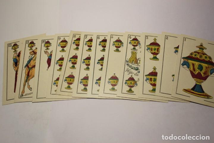 Barajas de cartas: BARAJA NAIPES HIJO DE TORRAS Y LLEO (BARCELONA) COMPLETAMENTE NUEVA SIN USAR AÑOS 1930 - Foto 3 - 245981800