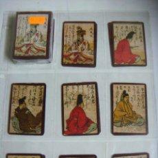 Barajas de cartas: BARAJA HYAKUNIN ISSHU UTA KARUTA JAPON SIGLO XVIII (HACIA 1750)-Nº-31--( REPRODUCION ). Lote 246015565