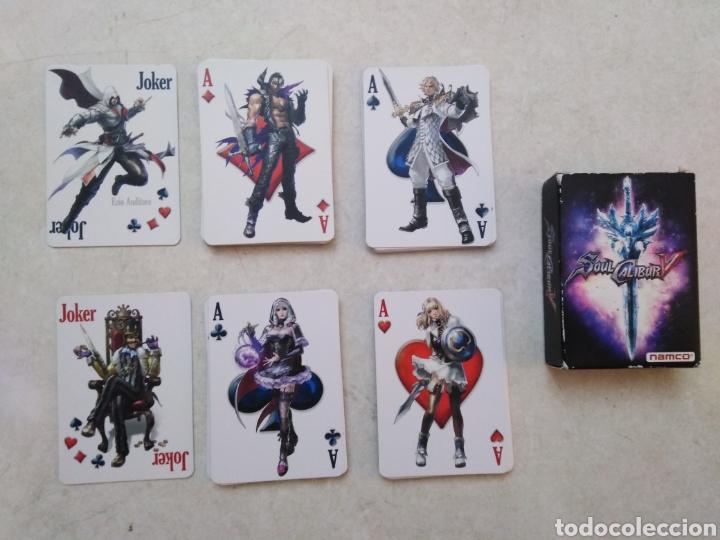 Barajas de cartas: Baraja de cartas, soul calibur V ( namco ) - Foto 3 - 246184705
