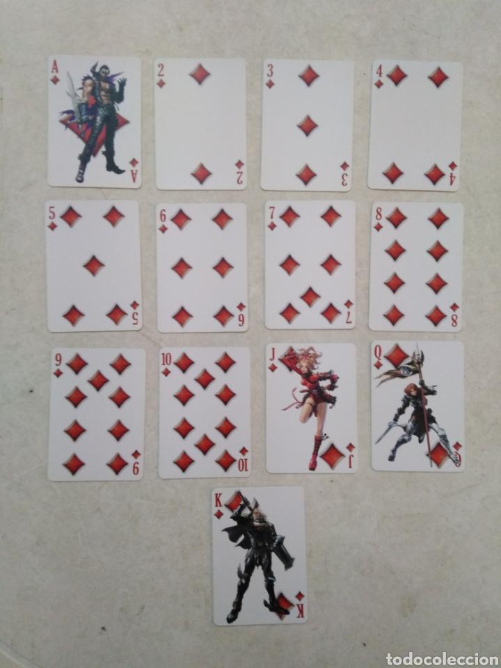 Barajas de cartas: Baraja de cartas, soul calibur V ( namco ) - Foto 5 - 246184705
