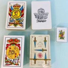 Barajas de cartas: 5 BARAJAS ESPAÑOLAS NAIPES - FOURNIER. Lote 246453265