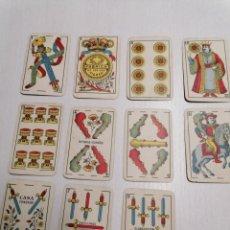 Barajas de cartas: 11 CARTAS DE LA BARAJA AMAESTRADA EDITADA PARA BORRAS POR HERACLIO FOURNIE AÑO 1968. Lote 246545785