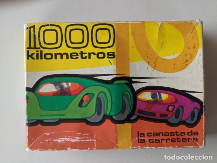 JUEGO DE MESA 1000 KILOMETROS - LA CANASTA DE LA CARRETERA - FOURNIER VITORIA (Juguetes y Juegos - Cartas y Naipes - Otras Barajas)