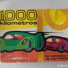 Barajas de cartas: JUEGO DE MESA 1000 KILOMETROS - LA CANASTA DE LA CARRETERA - FOURNIER VITORIA. Lote 246866890