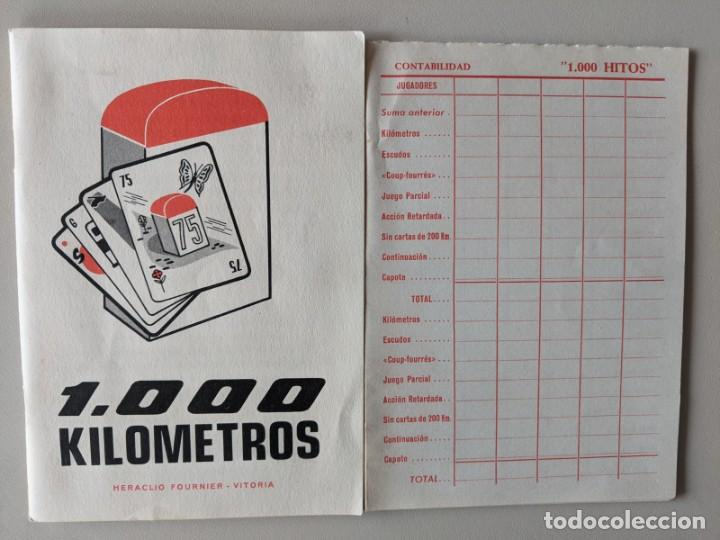 Barajas de cartas: JUEGO DE MESA 1000 KILOMETROS - LA CANASTA DE LA CARRETERA - FOURNIER VITORIA - Foto 2 - 246866890