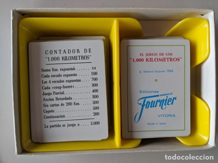 Barajas de cartas: JUEGO DE MESA 1000 KILOMETROS - LA CANASTA DE LA CARRETERA - FOURNIER VITORIA - Foto 3 - 246866890